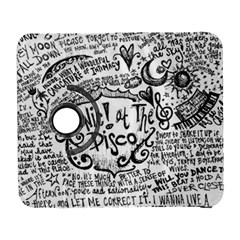 Panic! At The Disco Lyric Quotes Galaxy S3 (flip/folio) by Onesevenart