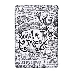 Panic! At The Disco Lyric Quotes Apple Ipad Mini Hardshell Case (compatible With Smart Cover) by Onesevenart