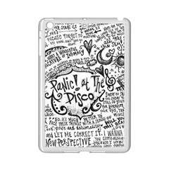 Panic! At The Disco Lyric Quotes Ipad Mini 2 Enamel Coated Cases by Onesevenart