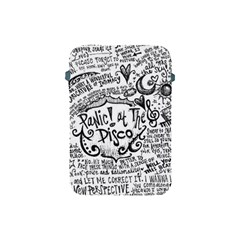 Panic! At The Disco Lyric Quotes Apple Ipad Mini Protective Soft Cases by Onesevenart