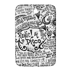 Panic! At The Disco Lyric Quotes Samsung Galaxy Note 8 0 N5100 Hardshell Case  by Onesevenart