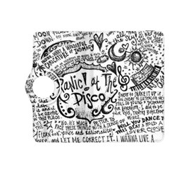 Panic! At The Disco Lyric Quotes Kindle Fire Hdx 8 9  Flip 360 Case by Onesevenart