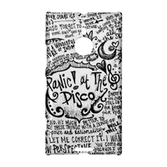 Panic! At The Disco Lyric Quotes Nokia Lumia 1520 by Onesevenart