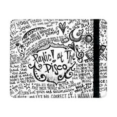 Panic! At The Disco Lyric Quotes Samsung Galaxy Tab Pro 8 4  Flip Case by Onesevenart