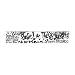Panic! At The Disco Lyric Quotes Flano Scarf (mini) by Onesevenart