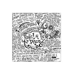 Panic! At The Disco Lyric Quotes Satin Bandana Scarf by Onesevenart