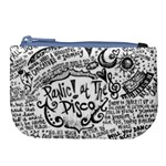 Panic! At The Disco Lyric Quotes Large Coin Purse