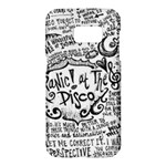 Panic! At The Disco Lyric Quotes Samsung Galaxy S7 Hardshell Case
