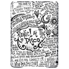 Panic! At The Disco Lyric Quotes Apple Ipad Pro 9 7   Hardshell Case by Onesevenart