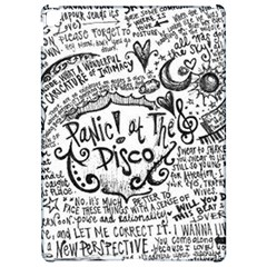 Panic! At The Disco Lyric Quotes Apple Ipad Pro 12 9   Hardshell Case by Onesevenart