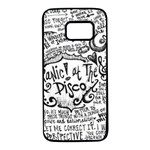 Panic! At The Disco Lyric Quotes Samsung Galaxy S7 Black Seamless Case