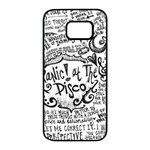 Panic! At The Disco Lyric Quotes Samsung Galaxy S7 edge Black Seamless Case