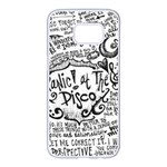 Panic! At The Disco Lyric Quotes Samsung Galaxy S7 edge White Seamless Case