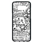 Panic! At The Disco Lyric Quotes Samsung Galaxy S8 Plus Black Seamless Case