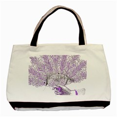 Panic At The Disco Basic Tote Bag by Onesevenart