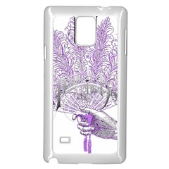 Panic At The Disco Samsung Galaxy Note 4 Case (white) by Onesevenart
