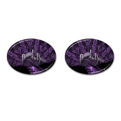 Panic At The Disco Cufflinks (oval) by Onesevenart