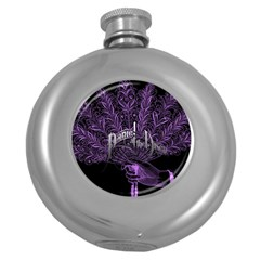 Panic At The Disco Round Hip Flask (5 Oz) by Onesevenart
