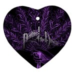 Panic At The Disco Heart Ornament (Two Sides)