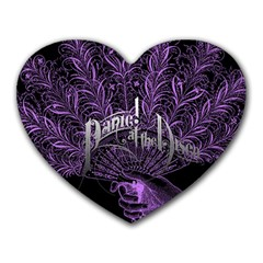 Panic At The Disco Heart Mousepads by Onesevenart