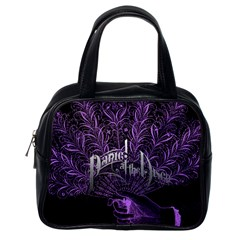 Panic At The Disco Classic Handbags (one Side) by Onesevenart