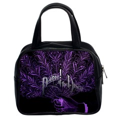 Panic At The Disco Classic Handbags (2 Sides) by Onesevenart