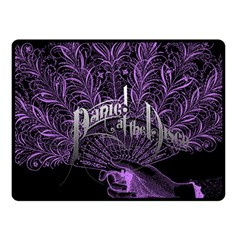 Panic At The Disco Fleece Blanket (small) by Onesevenart
