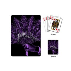 Panic At The Disco Playing Cards (mini)  by Onesevenart