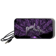 Panic At The Disco Portable Speaker (black) by Onesevenart