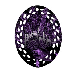 Panic At The Disco Ornament (oval Filigree) by Onesevenart