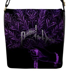 Panic At The Disco Flap Messenger Bag (s) by Onesevenart