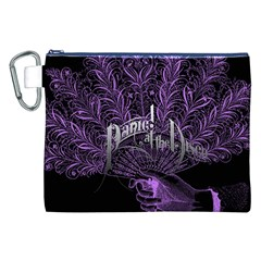 Panic At The Disco Canvas Cosmetic Bag (xxl) by Onesevenart