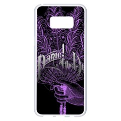 Panic At The Disco Samsung Galaxy S8 Plus White Seamless Case by Onesevenart