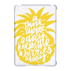 Cute Pineapple Yellow Fruite Apple Ipad Mini Hardshell Case (compatible With Smart Cover) by Mariart