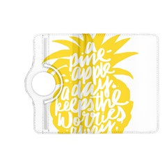 Cute Pineapple Yellow Fruite Kindle Fire Hd (2013) Flip 360 Case by Mariart