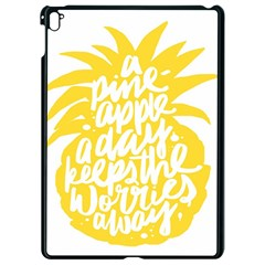 Cute Pineapple Yellow Fruite Apple Ipad Pro 9 7   Black Seamless Case by Mariart