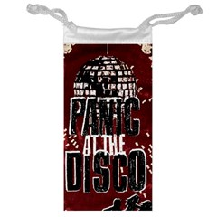 Panic At The Disco Poster Jewelry Bag by Onesevenart