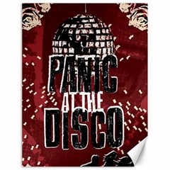Panic At The Disco Poster Canvas 18  X 24   by Onesevenart