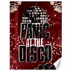 Panic At The Disco Poster Canvas 36  X 48   by Onesevenart