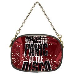 Panic At The Disco Poster Chain Purses (two Sides)  by Onesevenart