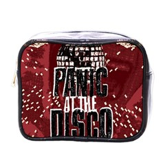 Panic At The Disco Poster Mini Toiletries Bags by Onesevenart