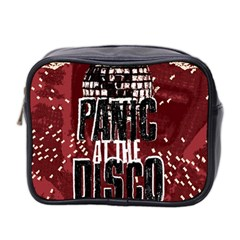 Panic At The Disco Poster Mini Toiletries Bag 2 Side by Onesevenart