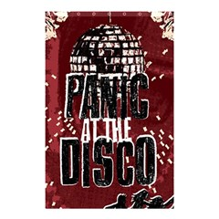 Panic At The Disco Poster Shower Curtain 48  X 72  (small)  by Onesevenart