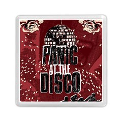 Panic At The Disco Poster Memory Card Reader (square)  by Onesevenart
