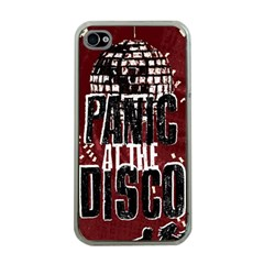 Panic At The Disco Poster Apple Iphone 4 Case (clear) by Onesevenart