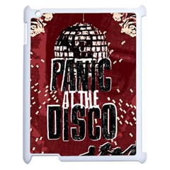 Panic At The Disco Poster Apple Ipad 2 Case (white) by Onesevenart