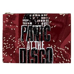 Panic At The Disco Poster Cosmetic Bag (xxl)  by Onesevenart