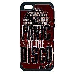 Panic At The Disco Poster Apple Iphone 5 Hardshell Case (pc+silicone) by Onesevenart