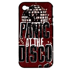 Panic At The Disco Poster Apple Iphone 4/4s Hardshell Case (pc+silicone) by Onesevenart