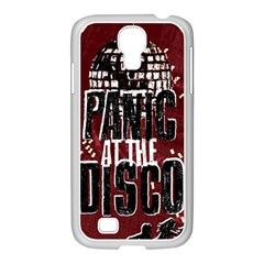 Panic At The Disco Poster Samsung Galaxy S4 I9500/ I9505 Case (white) by Onesevenart